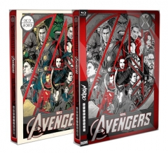 [BE33]**Mondo X Steelbook** The Avengers Blu-ray - 1 Click Both Variant & Standard Edition (2D , Numbered)