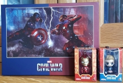 [BE37]Captain America: Civil War Blu-ray-One-Click Edition Box Set